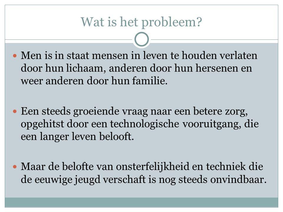 Wat is het probleem