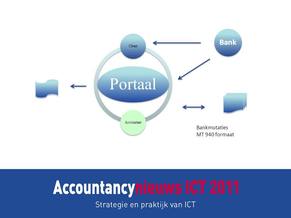 Portaal Client Accountant Bank Bankmutaties MT 940 formaat