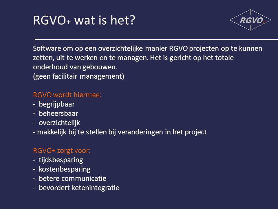 RGVO+ wat is het RGVO+