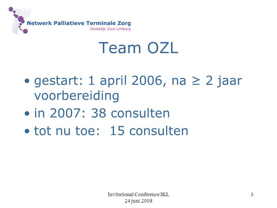 Invitational Conference IKL 24 juni 2008