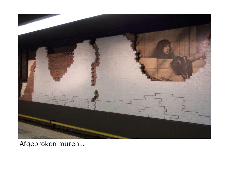 Afgebroken muren…