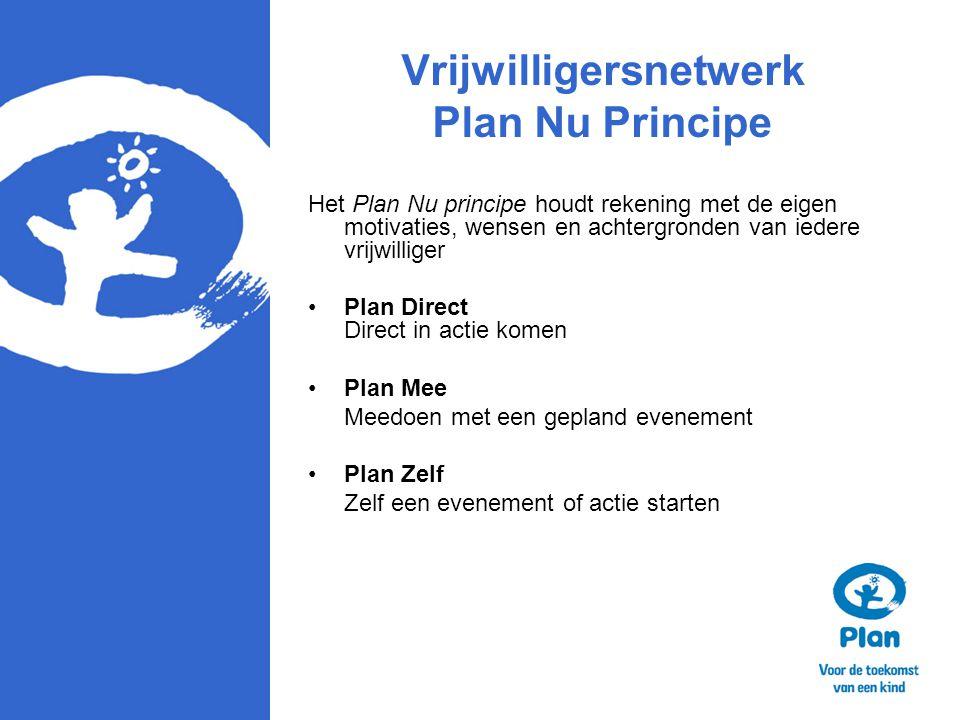 Vrijwilligersnetwerk Plan Nu Principe