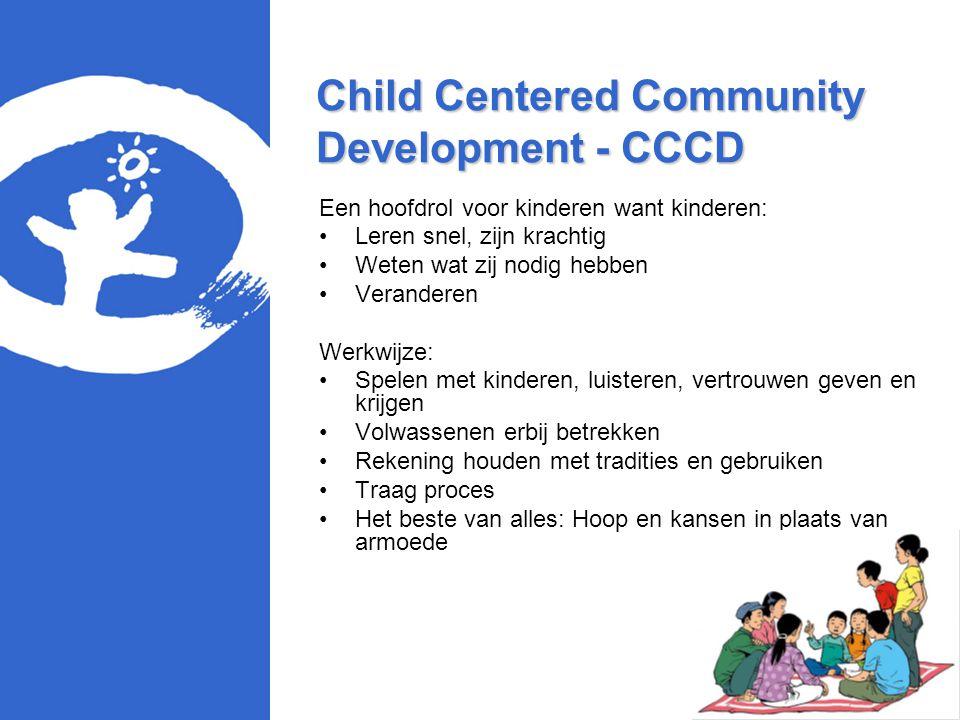 Child Centered Community Development - CCCD