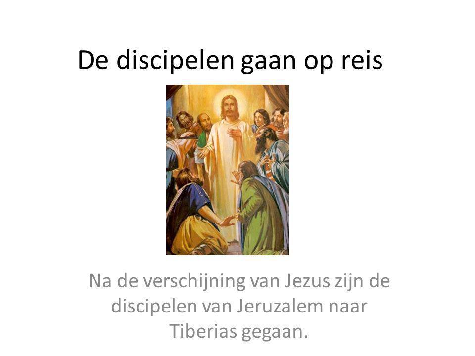 De discipelen gaan op reis