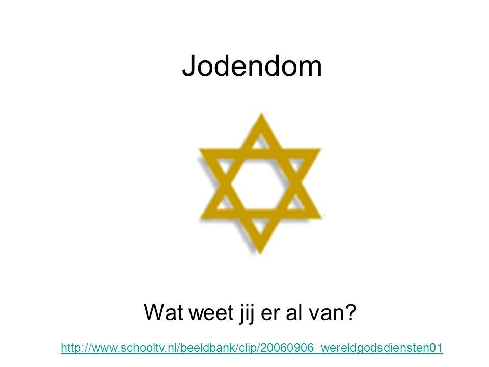 Jodendom Wat weet jij er al van