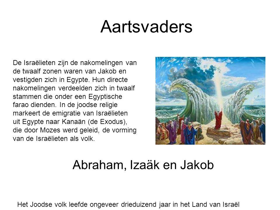Aartsvaders Abraham, Izaäk en Jakob