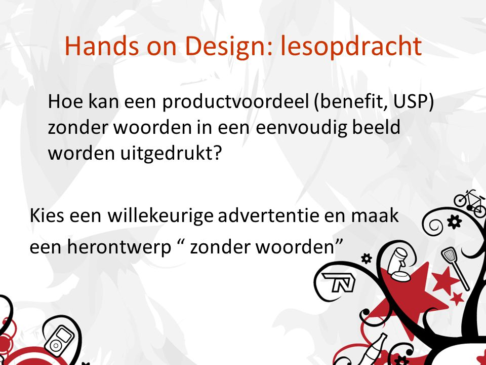 Hands on Design: lesopdracht