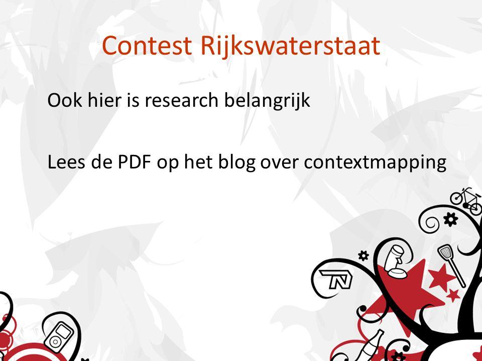Contest Rijkswaterstaat