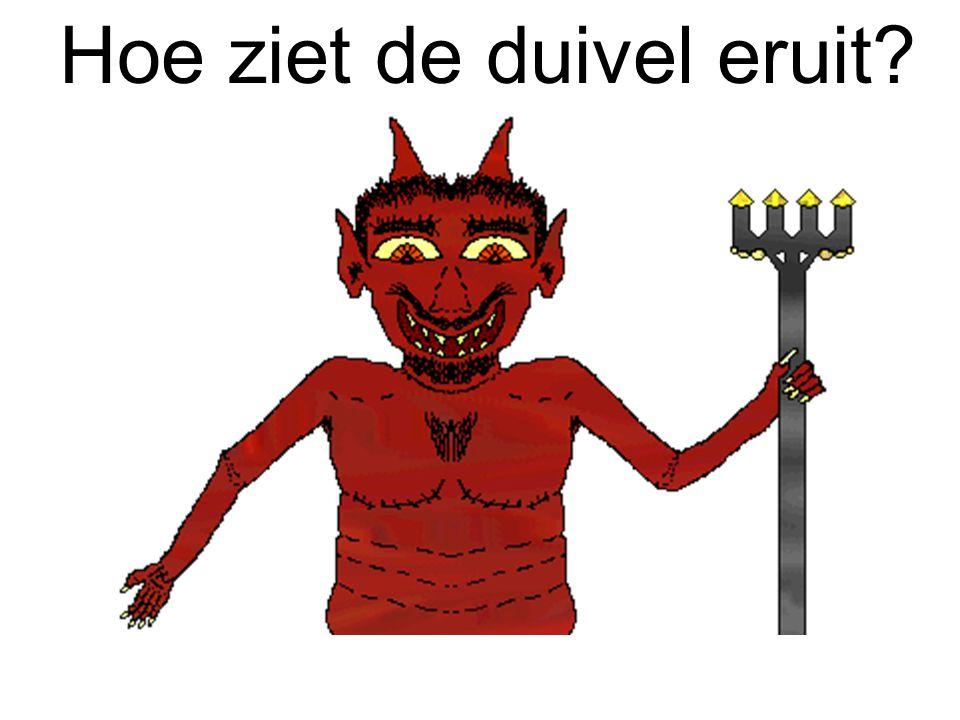 Hoe ziet de duivel eruit
