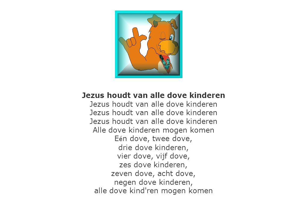 Jezus houdt van alle dove kinderen