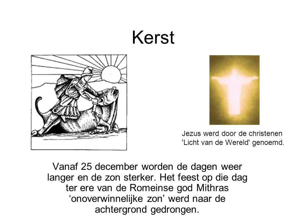 Kerst Jezus werd door de christenen Licht van de Wereld genoemd.