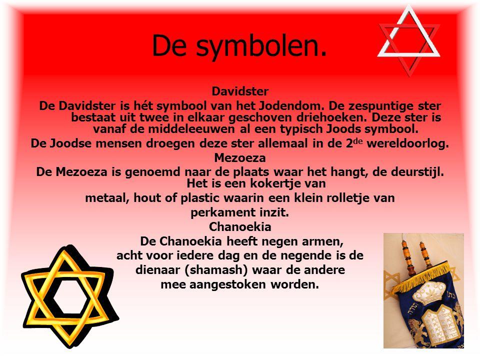 De symbolen. Davidster.