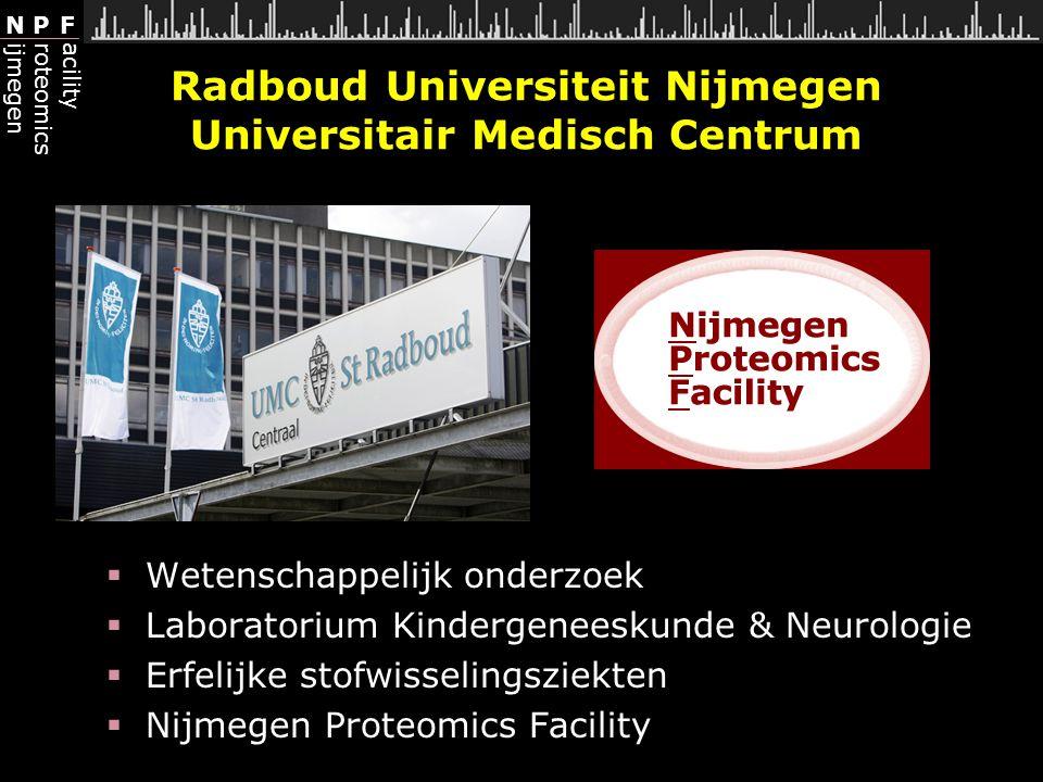 Radboud Universiteit Nijmegen Universitair Medisch Centrum