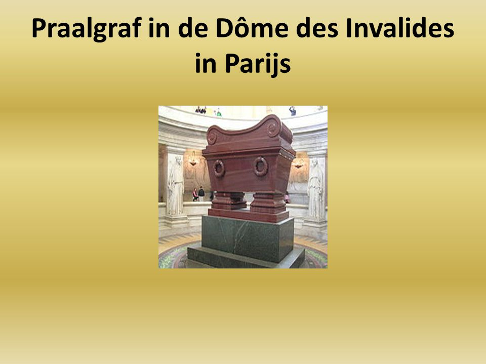 Praalgraf in de Dôme des Invalides in Parijs