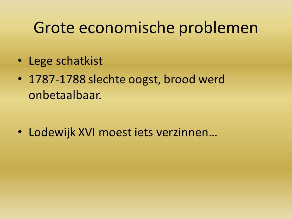 Grote economische problemen
