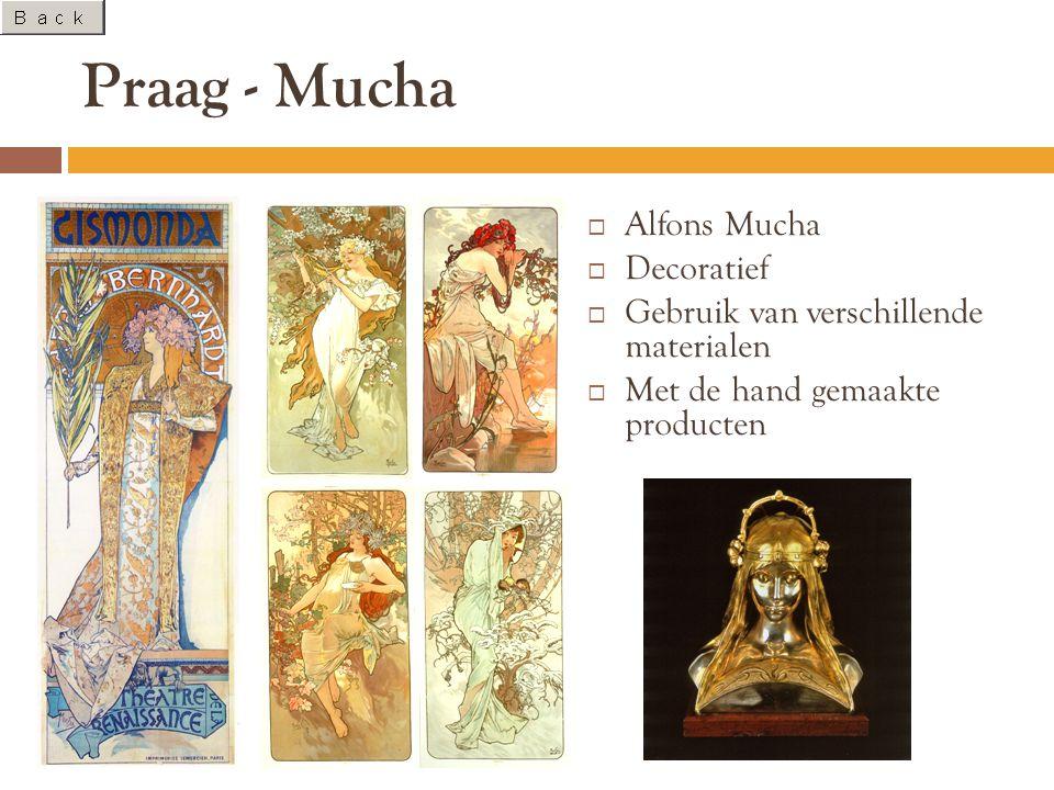 Praag - Mucha Alfons Mucha Decoratief