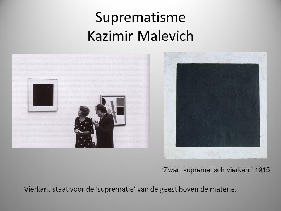 Suprematisme Kazimir Malevich