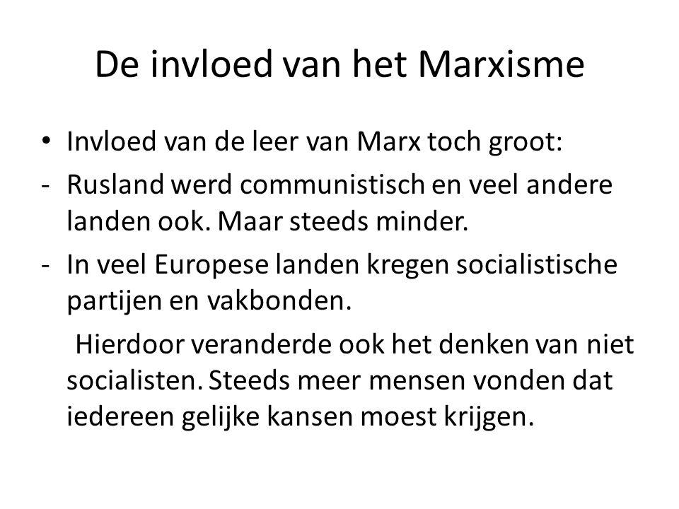 De invloed van het Marxisme
