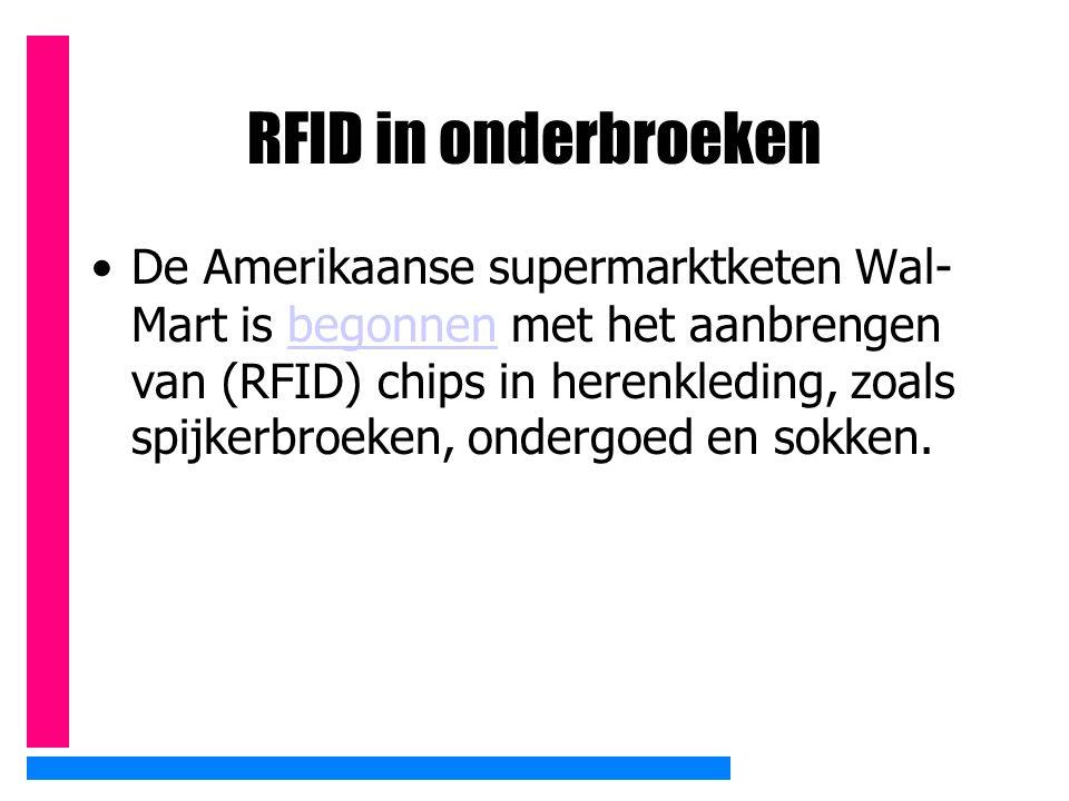 RFID in onderbroeken