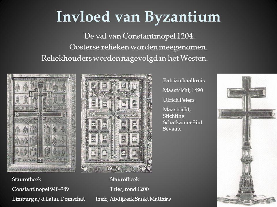 Invloed van Byzantium De val van Constantinopel 1204.