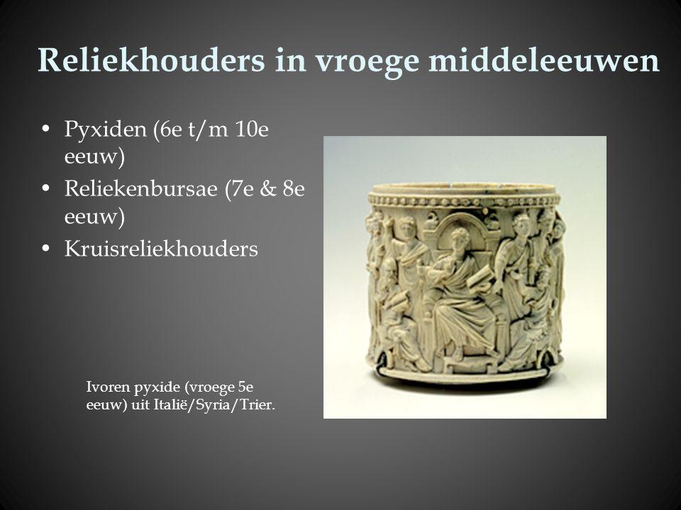 Reliekhouders in vroege middeleeuwen