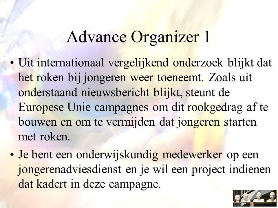 Advance Organizer 1
