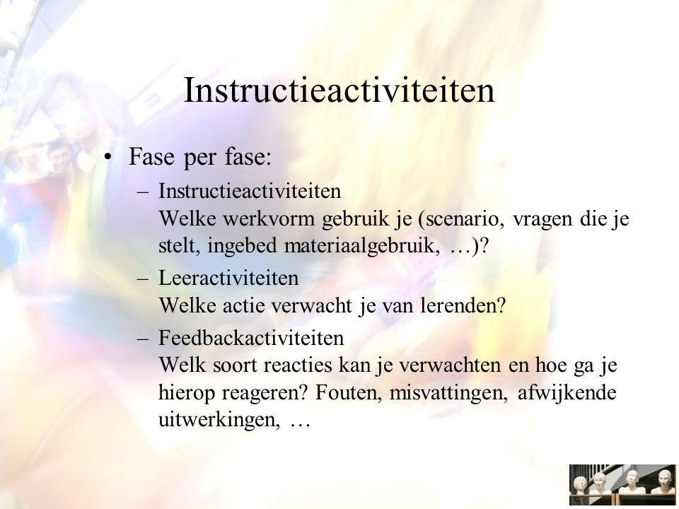 Instructieactiviteiten