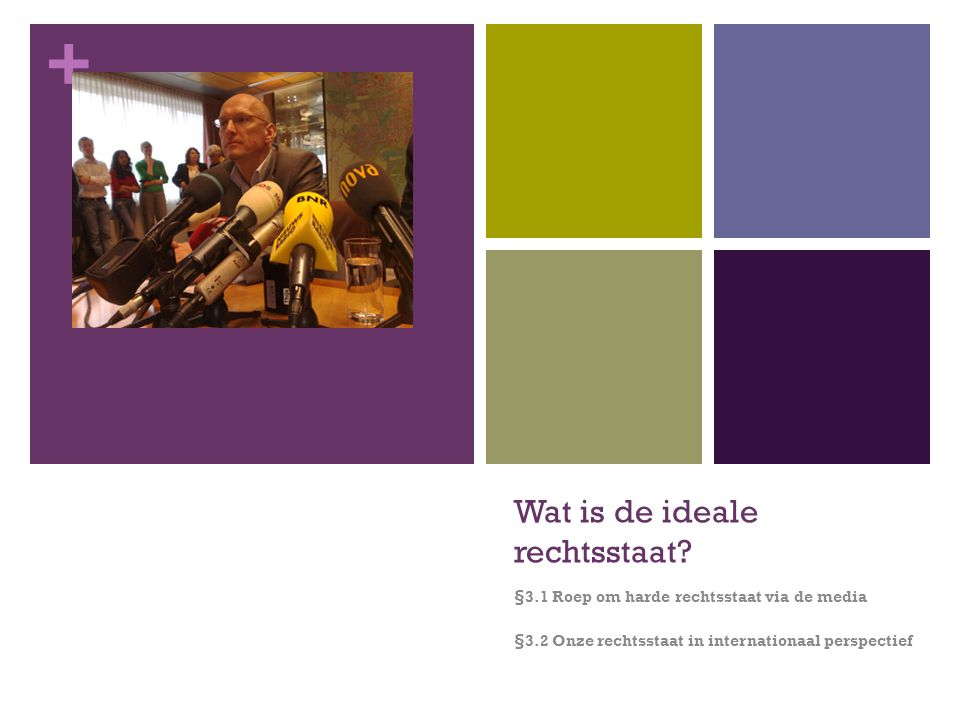 Wat is de ideale rechtsstaat