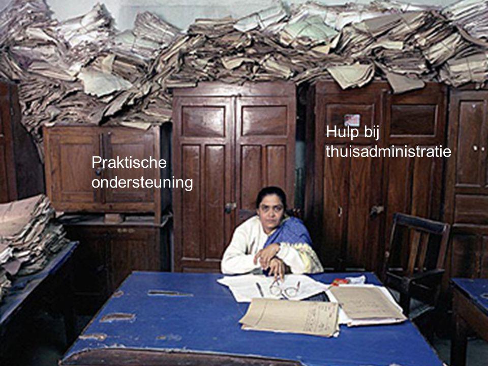 R Hulp bij thuisadministratie Praktische ondersteuning