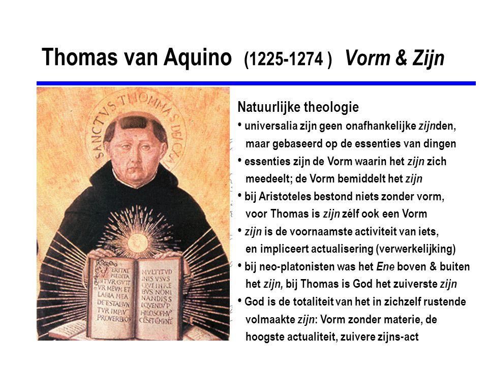 Thomas van Aquino (1225-1274 ) Vorm & Zijn