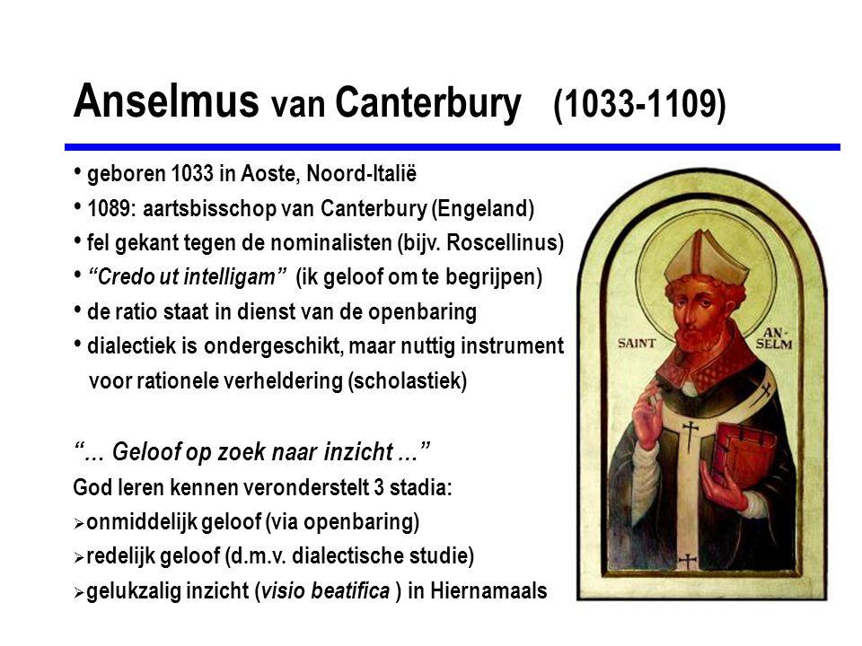 Anselmus van Canterbury (1033-1109)