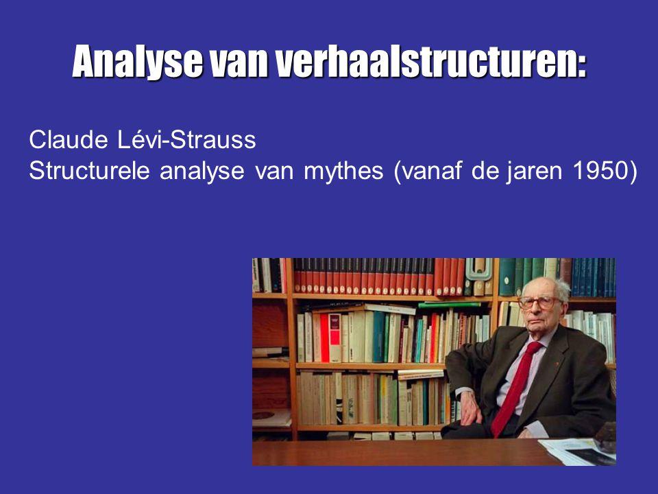 Analyse van verhaalstructuren: