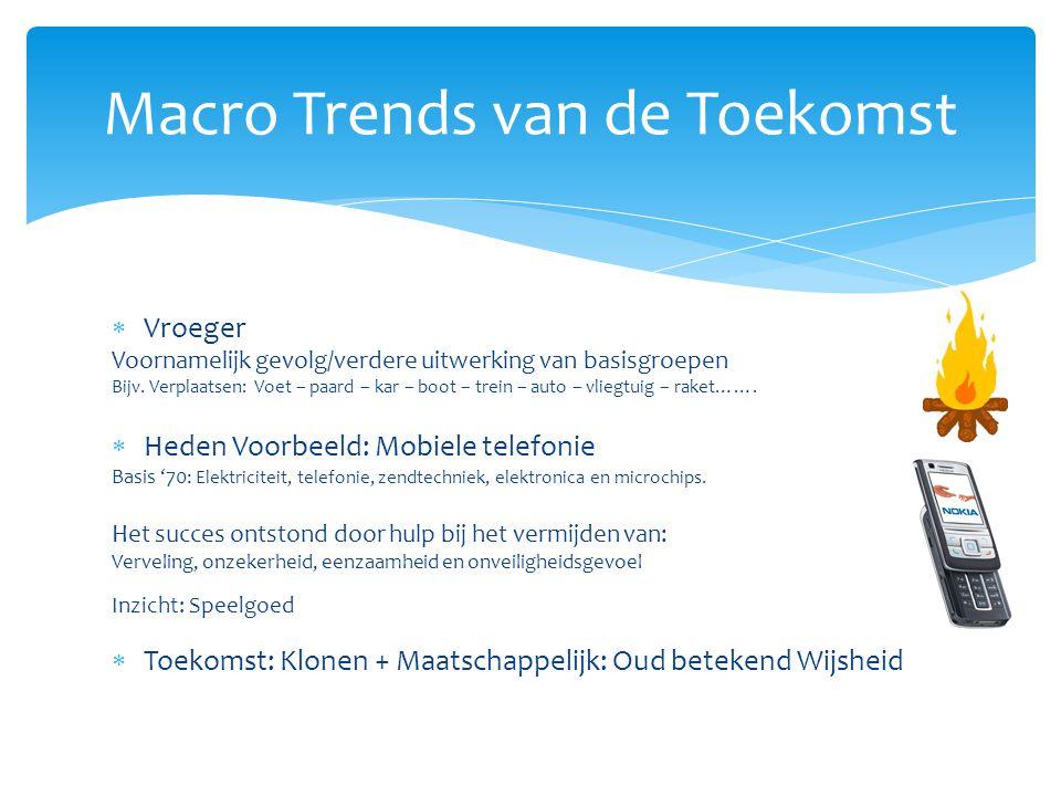 Macro Trends van de Toekomst