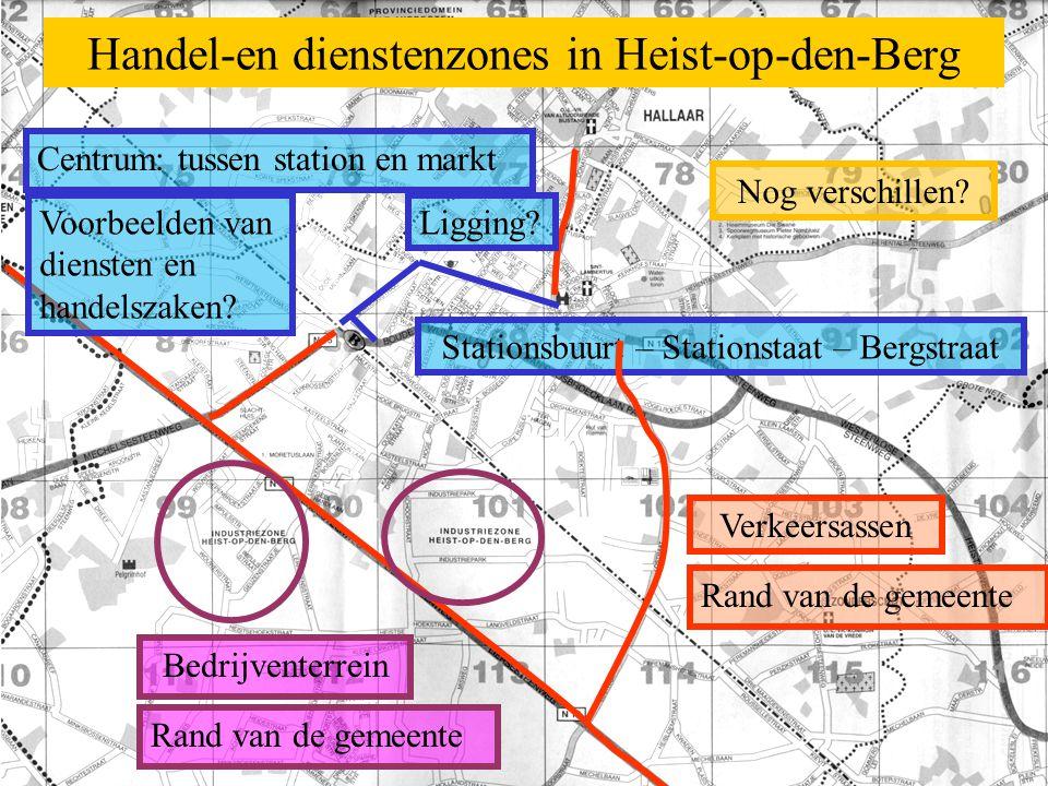 Handel-en dienstenzones in Heist-op-den-Berg
