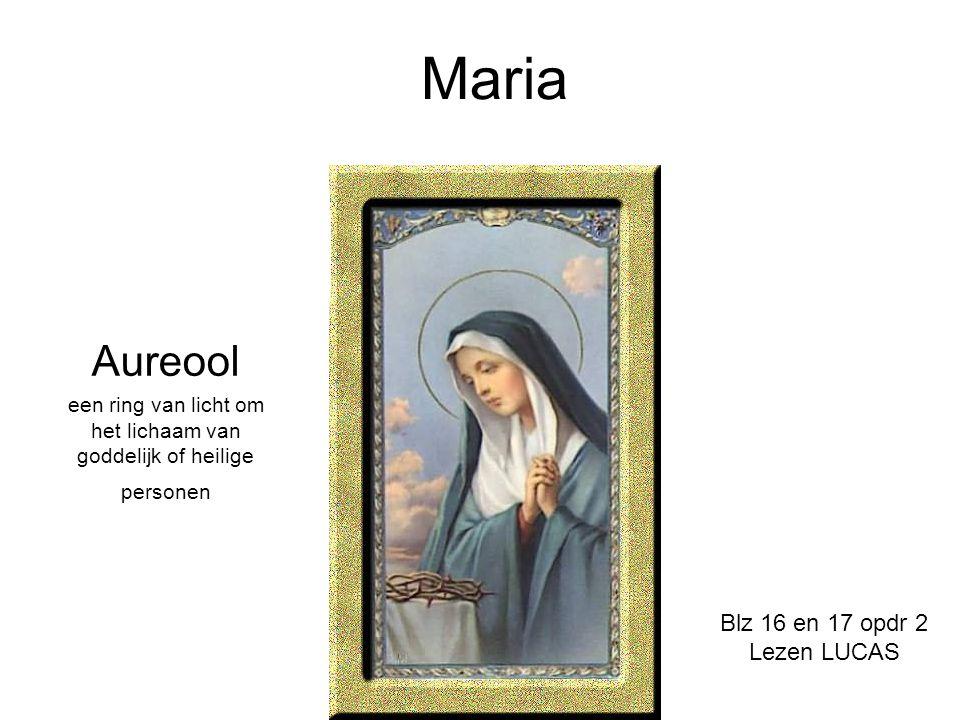 een ring van licht om het lichaam van goddelijk of heilige personen