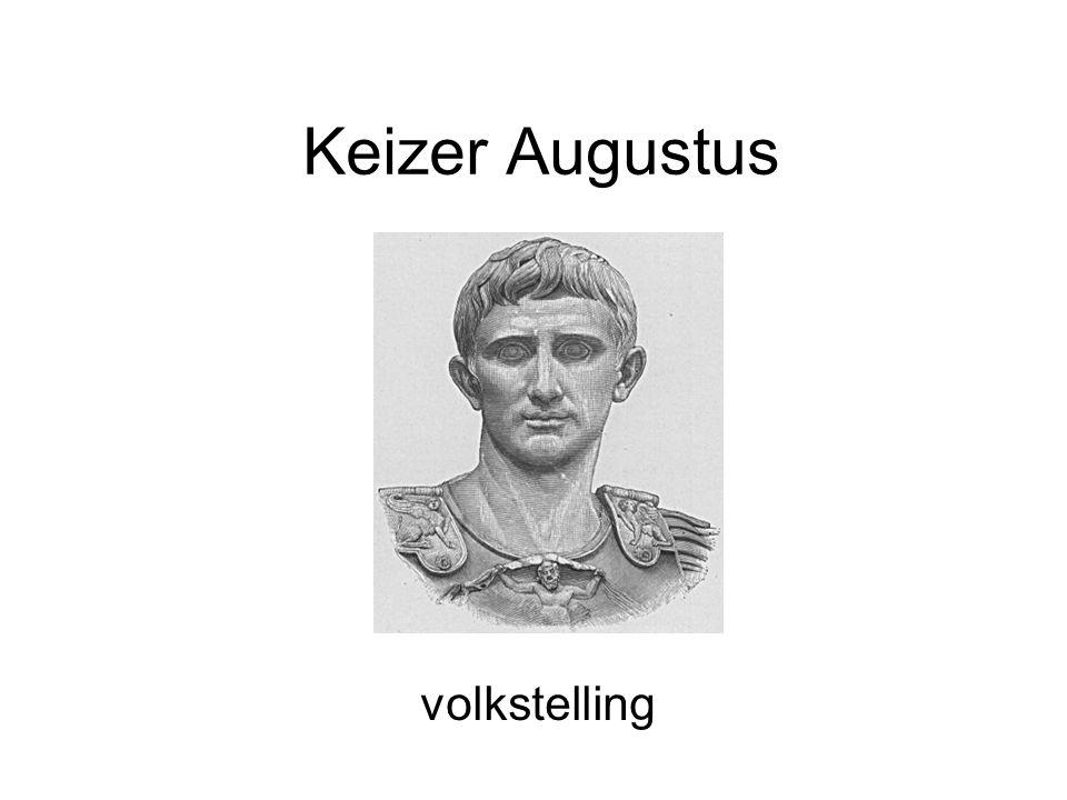 Keizer Augustus volkstelling