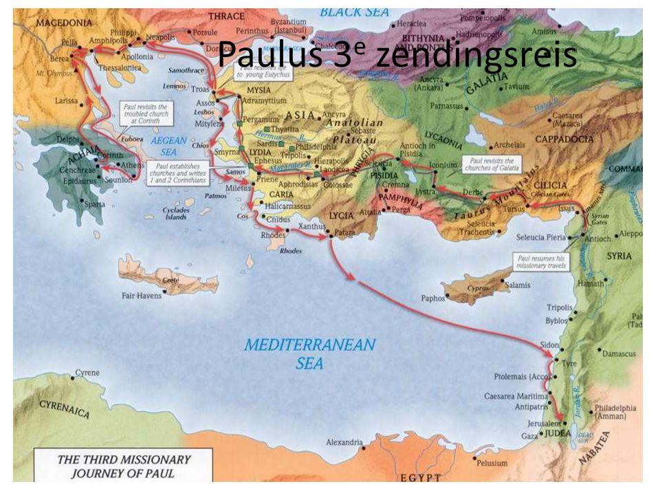 Paulus 3e zendingsreis