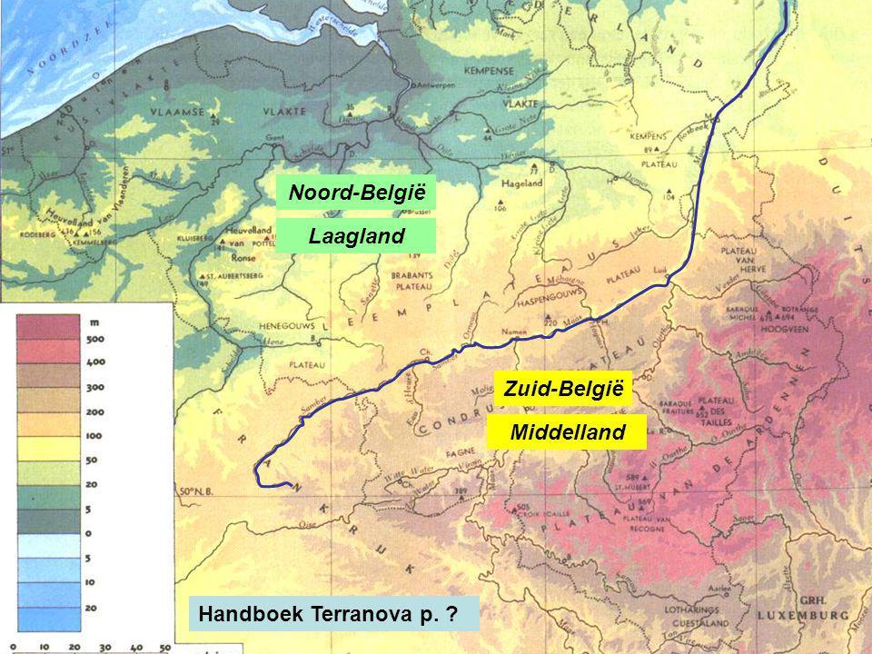 Noord-België Laagland Zuid-België Middelland Handboek Terranova p.
