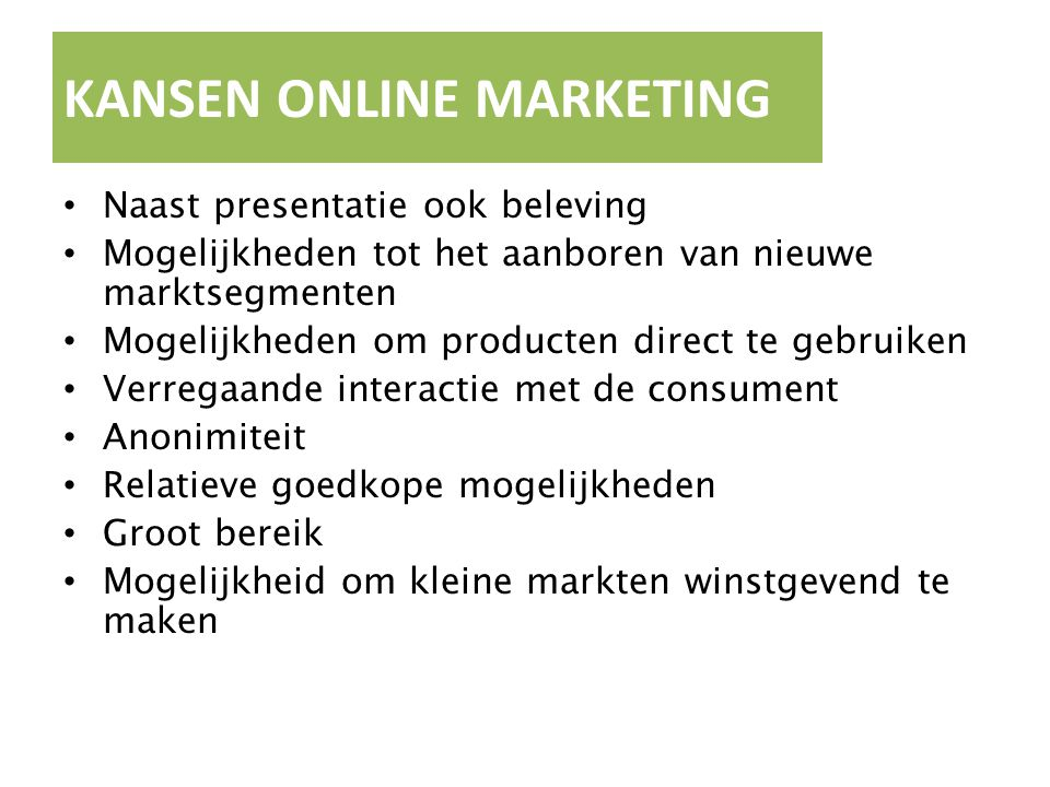 KANSEN ONLINE MARKETING
