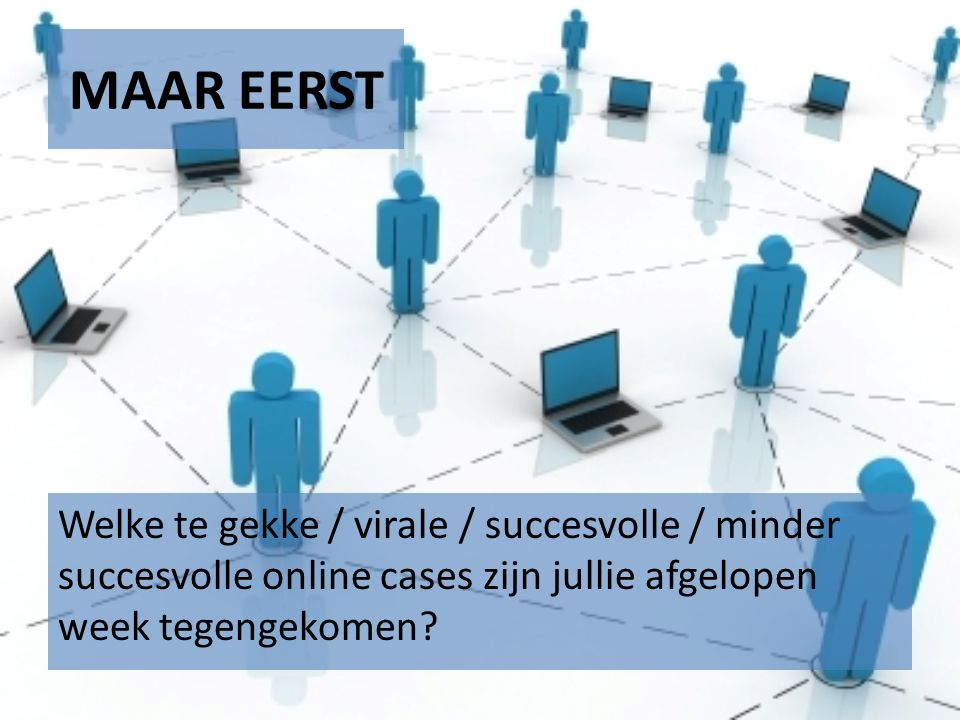 MAAR EERST http://www.marketingfacts.nl/viralfriday/ Lay's maak de smaak the battle !