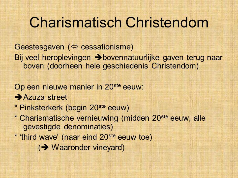 Charismatisch Christendom