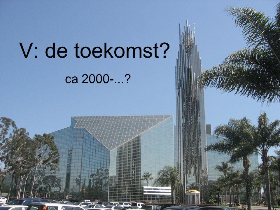 V: de toekomst ca 2000-...