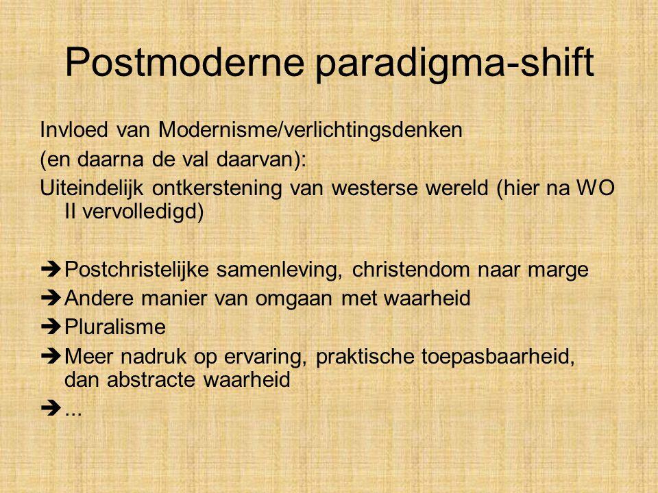 Postmoderne paradigma-shift