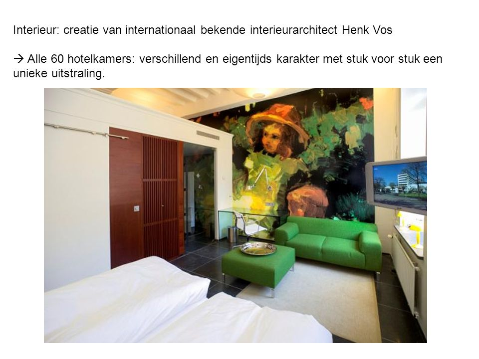 Interieur: creatie van internationaal bekende interieurarchitect Henk Vos