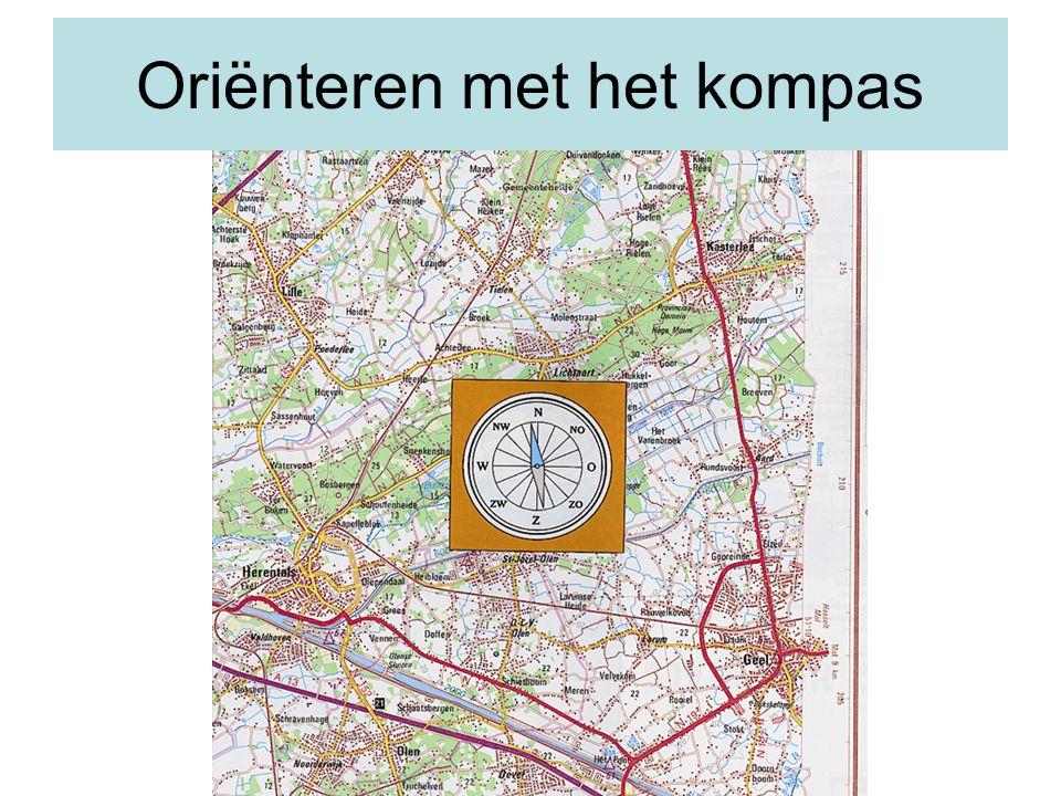 Oriënteren met het kompas