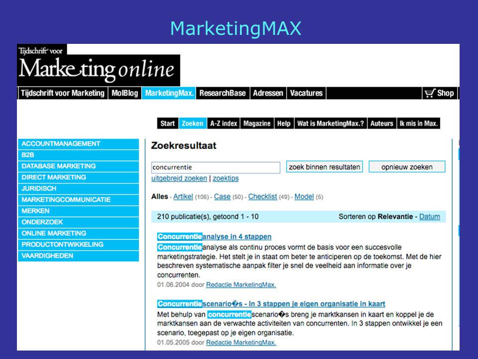 MarketingMAX