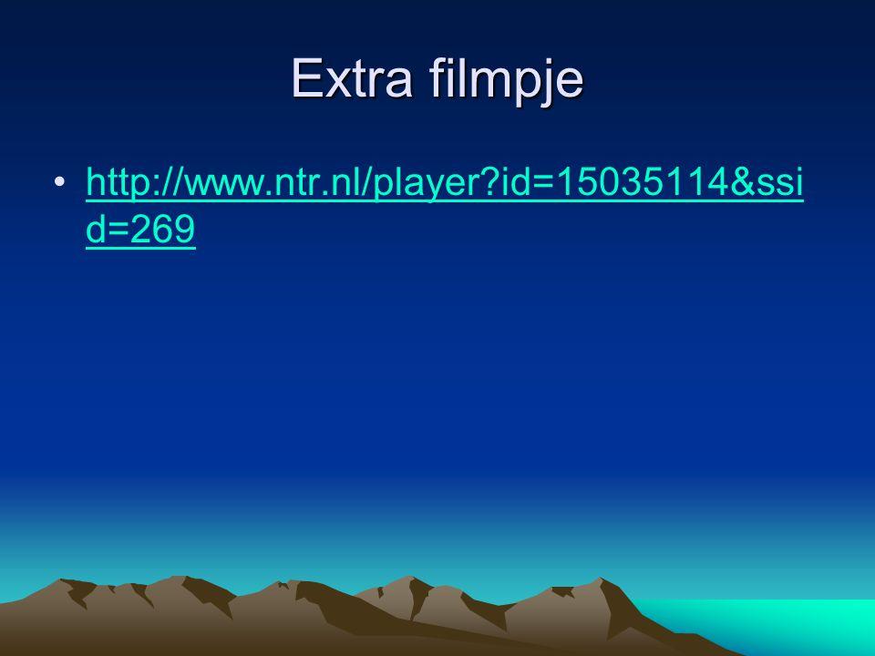 Extra filmpje http://www.ntr.nl/player id=15035114&ssid=269