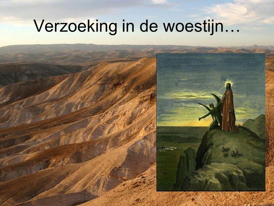 Verzoeking in de woestijn…