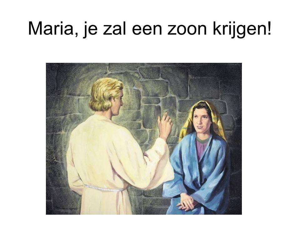 Maria, je zal een zoon krijgen!
