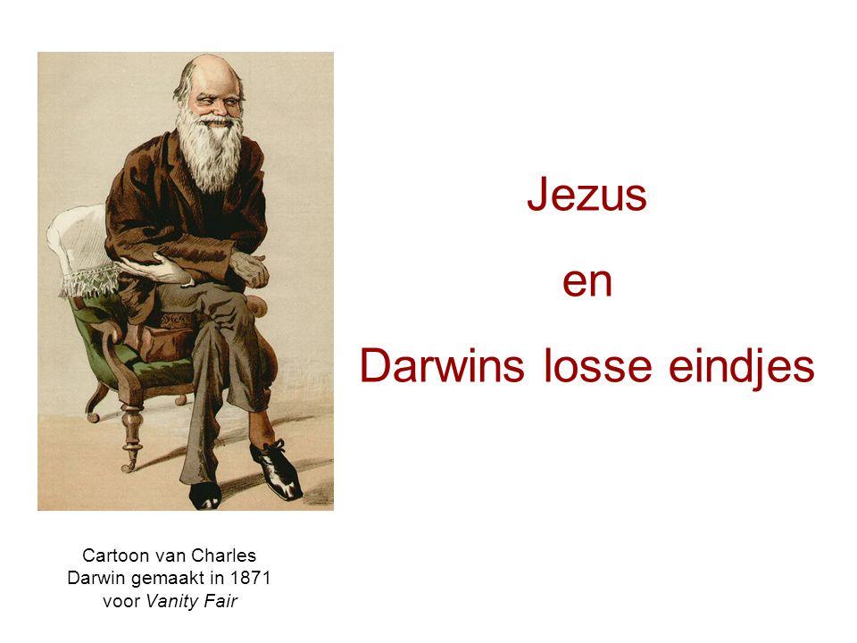 Cartoon van Charles Darwin gemaakt in 1871 voor Vanity Fair